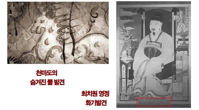 천마도&최치원영정.jpg